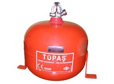 6 kg halokarbon gazlı otomatik sprinkli yangın söndürme cihazı
