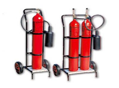 45 kg karbondioksit gazlı yangın söndürme cihazı