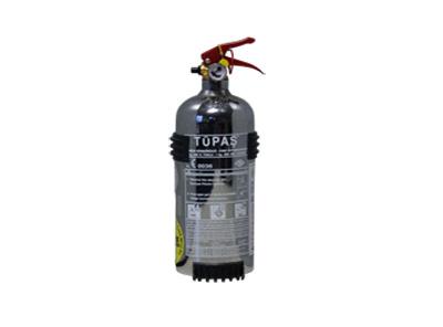 1 Kg ABC Kuru Kimyevi Tozlu Nikelaj Kaplama Yangın Söndürme Cihazı