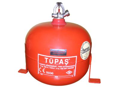 6 kg ABC kuru kimyevi tozlu otomatik sprinkli yangın söndürme cihazı